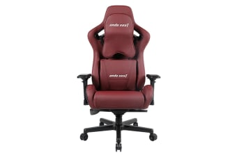 Anda Seat AD12XL-02 Extra Large Gaming Chair - Wine Red/Black