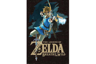 The Legend Of Zelda Breath Of The Wild Poster (Multi-colour) (One Size)