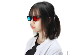 Anaglyph Dimensional 3D Vision Glasses for TV Movie Game