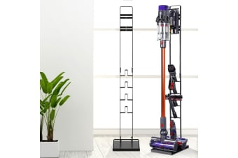 Freestanding Vacuum Stand Rack Holder Docking Accessories Handheld Vacuum Cleaner Cordless Stick Handstick Bagless For Dyson V6 7 8 V10 Black