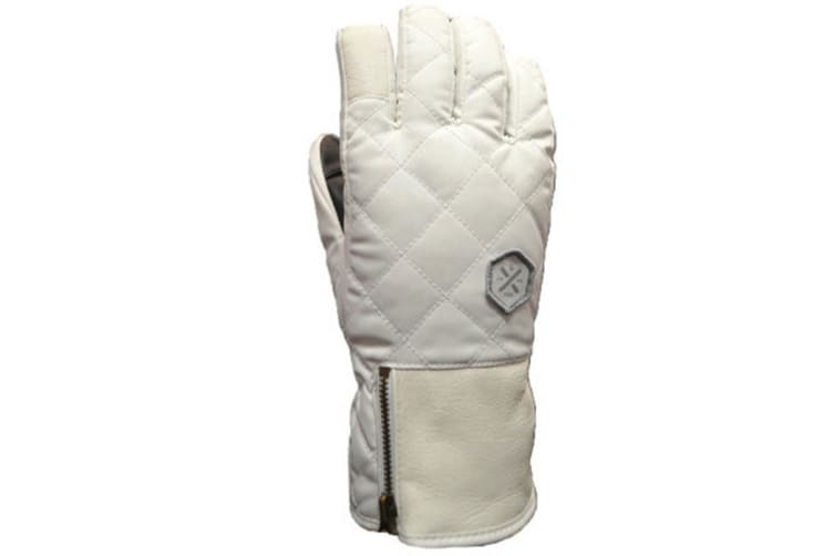 XTM Adult Female Gloves St Moritz Glove White - S