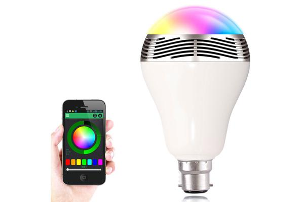Smart Bluetooth V4.0 Led Light Bulb Bayonet Music Speaker Iphone Android App Bl05Ab