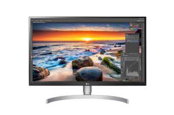 "LG 27"" UHD 4K IPS LED Monitor with HDR 10 (27UK850-W)"