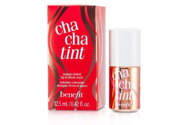 Benefit Cha Cha Tint (Mango Tinted Lip & Cheek Stain) (12.5ml/0.42oz)