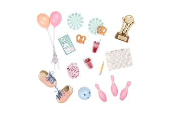 Our Generation Retro Bowling Party Accessories