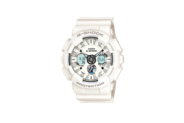 Casio G-Shock Ana-Digital Watch - White (GA120A-7A)