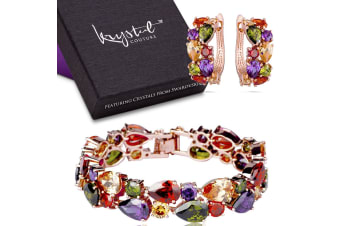 Karissma Elements Bracelet & Earrings Set