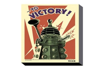 Dr Who 60cm x 80cm Wall Art Canvas - Victory