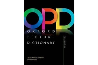 Oxford Picture Dictionary: Monolingual (American English) Dictionary - Picture the journey to success