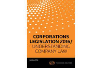 Corporations Legislation 2016/ Understanding Company Law