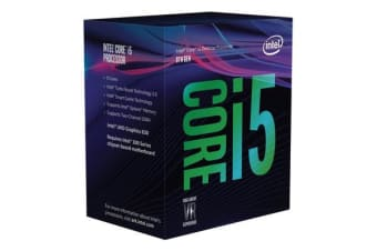 Intel Core i5-8600K 3.6Ghz No Fan Unlocked  s1151 Coffee Lake 8th Generation Boxed 3 Years Warranty