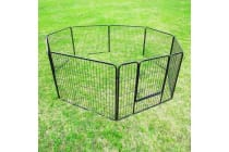 8 Heavy Duty Panel Foldable Pet Playpen 40""