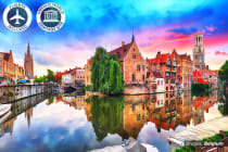EUROPE: 30 Day Ultimate Europe Tour Including Flights for Two