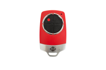 B&D Red Premium Garage Door Remote TB6 Genuine TriTran+