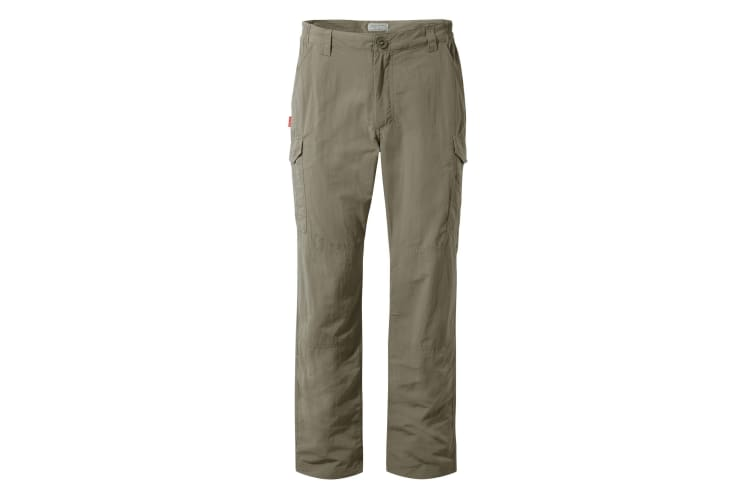 Craghoppers Mens NosiLife Cargo II Trousers (Pebble) (33R)