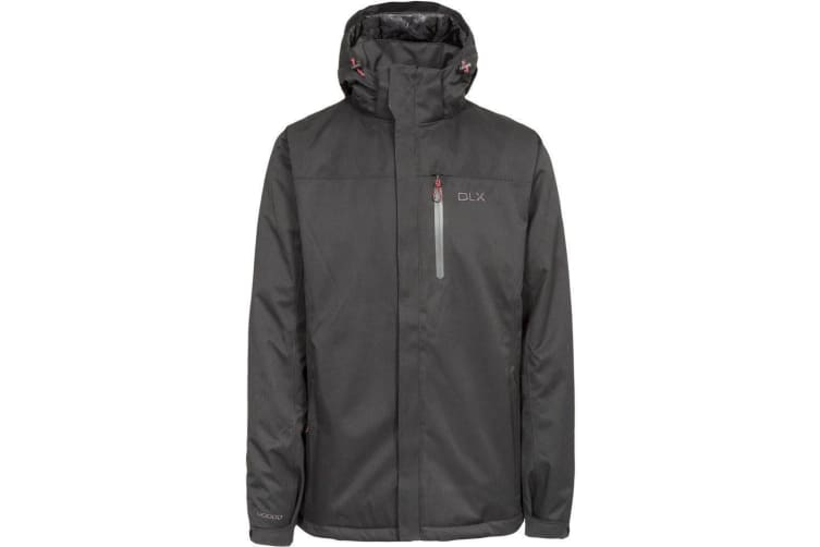 Trespass Mens Renner Waterproof Jacket (Black) (XL)