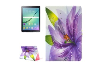 For Samsung Galaxy Tab S2 9.7 SM-T810 T815 Case Blossoming Flower Leather Cover