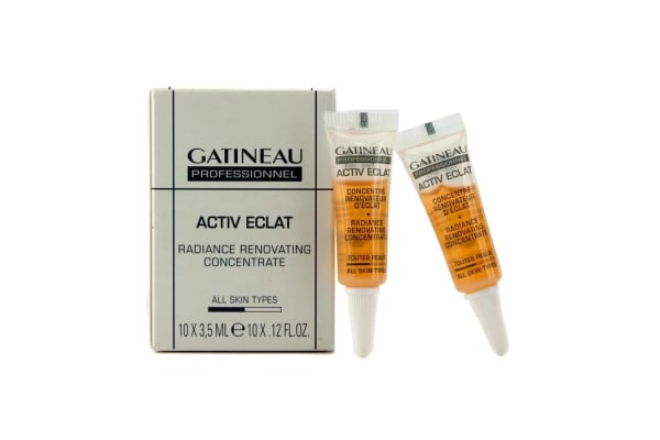 Gatineau Active Eclat Radiance Renovating Concentrate (Salon Size) (10x3.5ml/0.12oz)