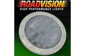 ROADVISION LED RECESSED INTERIOR DOME LIGHT LAMP ROOF CABIN CARAVAN WHITE IL100