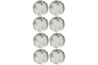 8PK Maxwell & Williams Primavera 27cm Porcelain Coupe Dinner Noodles Plate Dish