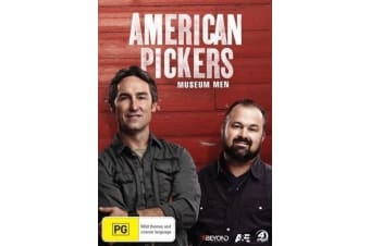 American Pickers Museum Men - Series Region 4 Rare- Aus Stock DVD NEW