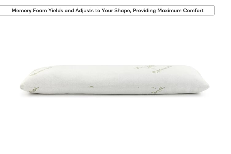 Trafalgar Bamboo Memory Foam Body Pillow