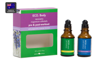 ECO. Pre & Post Workout Magnesium Rollerball Duo