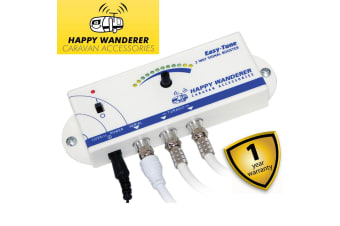Happy Wanderer Easy Tune TV Signal Finder Booster Including Digital and HD