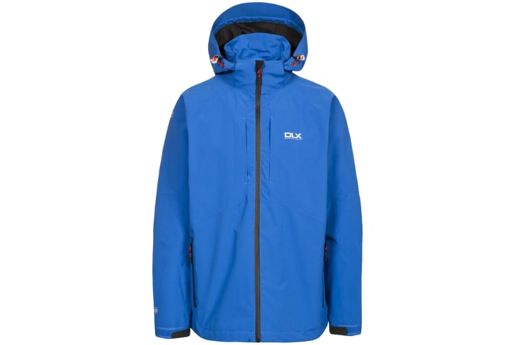 Trespass Mens Kumar Waterproof DLX Jacket (Electric Blue) (S)