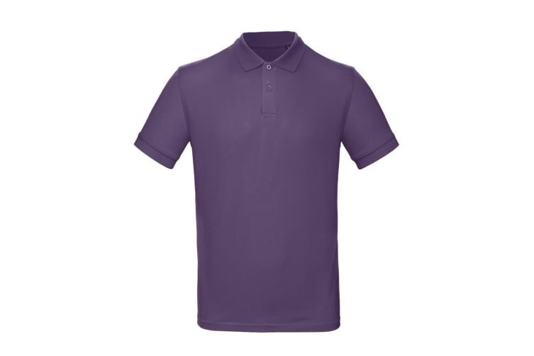 B&C Mens Inspire Polo (Pack of 2) (Ultraviolet) (M)