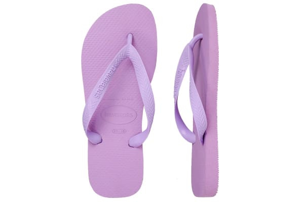 Havaianas Top Thongs (Soft Lilac, Brazil 41/42)