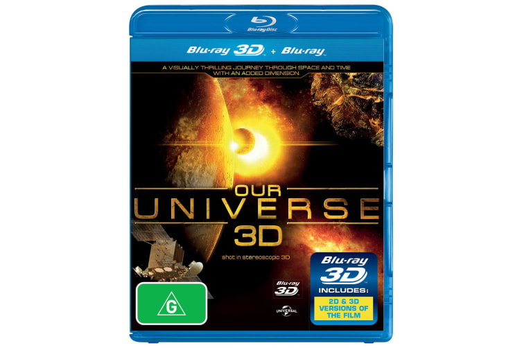 Our Universe 3D 3D Edition Blu-ray Region B
