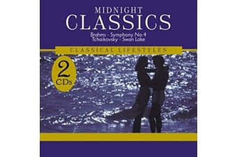 Midnight Classics Brahms Symphony Tchaikovsky Swan Lake MUSIC CD NEW SEALED