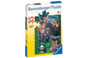 Ravensburger Animal Kingdom Puzzle - 35 Piece