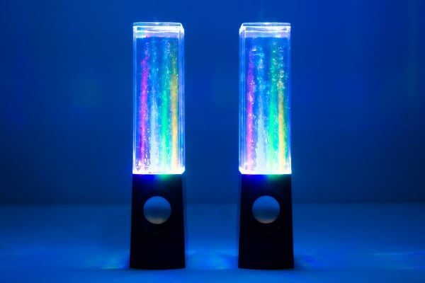 Kogan Water Fountain LED Speakers