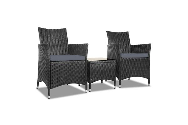Gardeon Bistro Chair (Black)