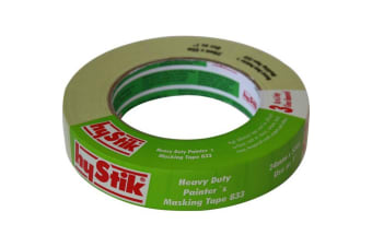 3 Day Heavy Duty Masking Tape 24Mm X 55Mt Roll Painters Tape