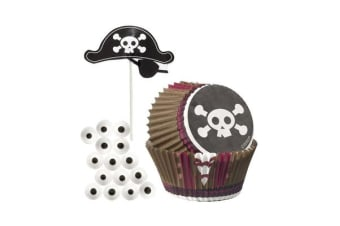 Wilton Pirate Cupcake Decorating Kit 24pc