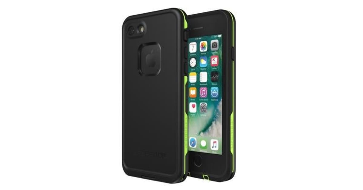 sneakers for cheap 7dc6b d636c Lifeproof iPhone 8/7 Fre Case Black Lime. WATERPROOF | Bags & Covers