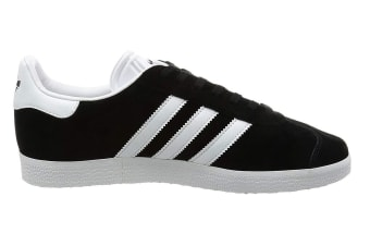 Adidas Originals Men's Gazelle Shoe (Core Black/White, Size 11.5 UK)
