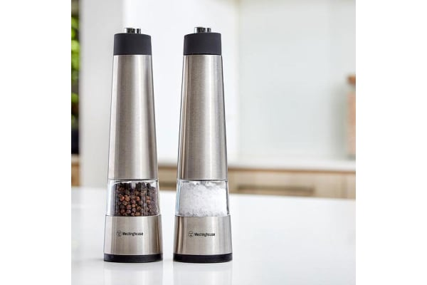 4PC Electric Salt and Pepper Mills