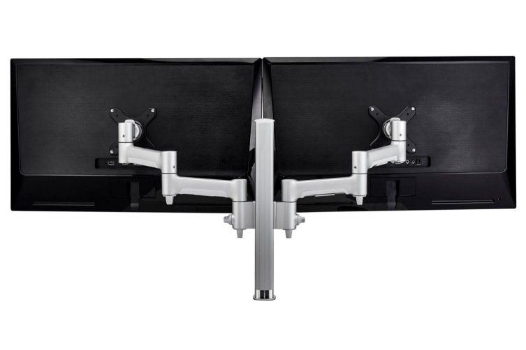 ATDEC AWM Dual monitor arm solution - 460mm articulating arms - 400mm post - F