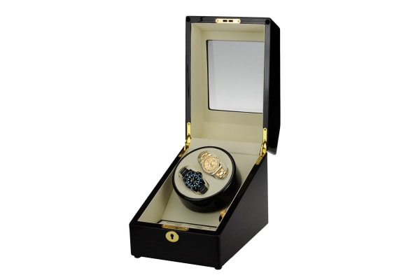 Kogan Dual Automatic Watch Winder and Storage Box
