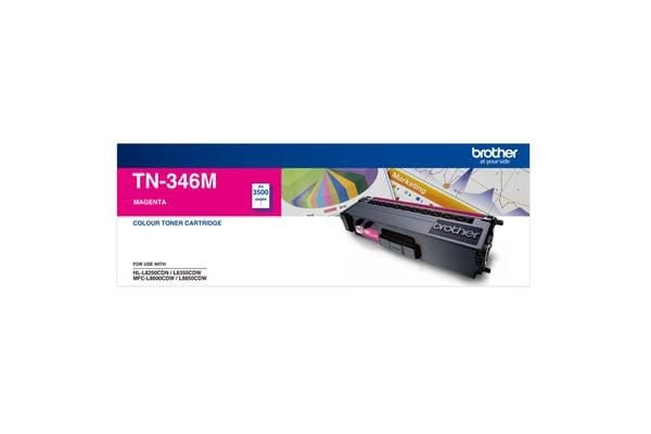 Brother TN-346MMagenta Toner 3500 Page, Suit HL-L8350CDW