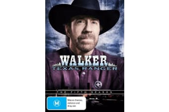 Walker Texas Ranger The Fifth Season 5 DVD Region 4