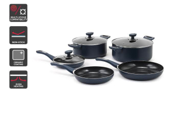 Ovela Diamond Series Non-stick 8pc Cookware Set