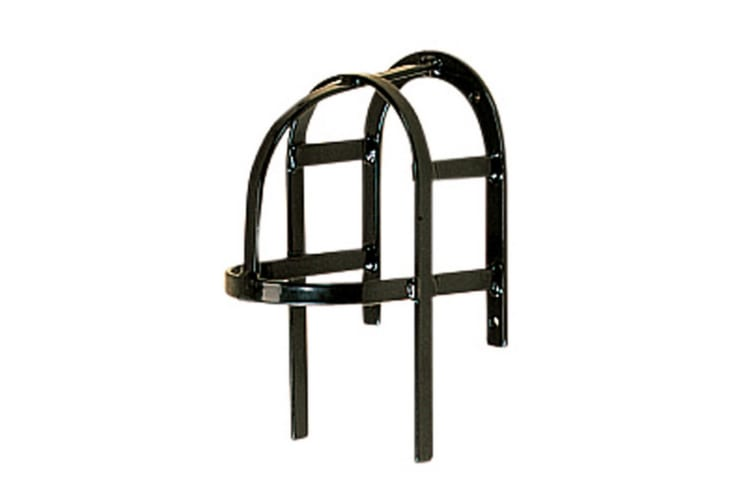 Stubbs Harness Bridle Rack (Black) (20 x 13 x 14cm)