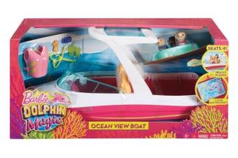 Barbie Dolphin Magic Ocean View Boat