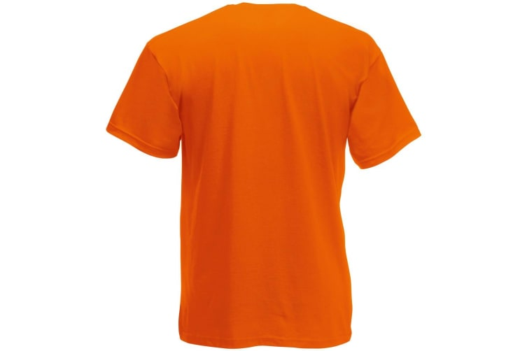 Fruit Of The Loom Mens Screen Stars Original Full Cut Short Sleeve T-Shirt (Orange) (2XL)