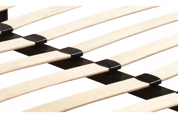 New Queen Metal Bed Base Timber Slat Support